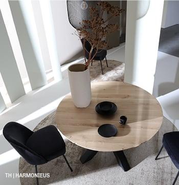 Trendhopper tip: balans in materiaal, vorm en kleur geeft je een harmonieus interieur