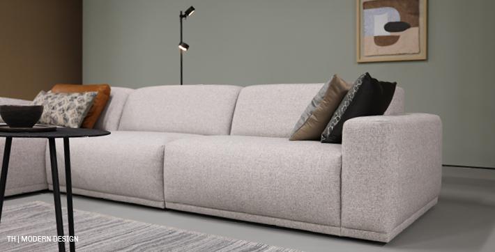 modern design in een minimalistisch interieur van trendhopper