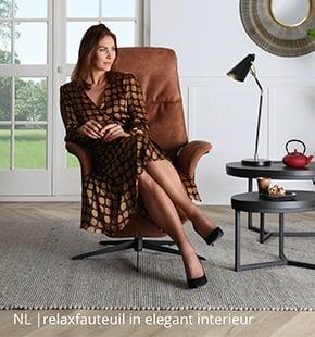 NLwoont relaxfauteuil in elegant interieur