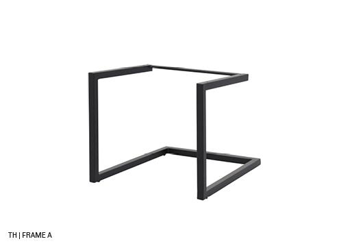 Trendhopper eetkamerstoel buisframe stoelpoten frame A