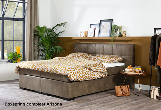 Boxspring compleet Arizona bij budget home store