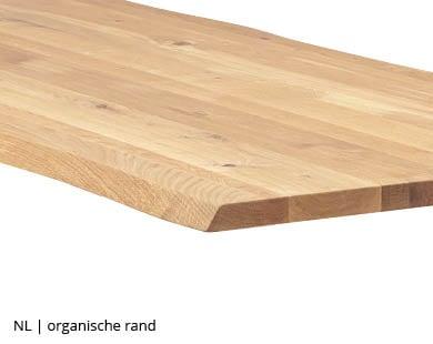 boomstamtafel met organisch gevormde rand bij NLwoont