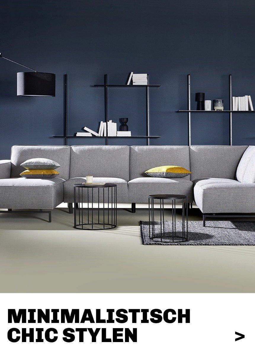 Stylingtips van Trendhopper voor een minimalistisch chic interieur