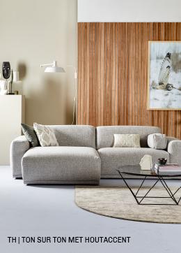 inspiratie van Trendhopper ton sur ton met houtaccent in je interieur.