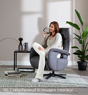 NLwoont relaxfauteuil in modern interieur