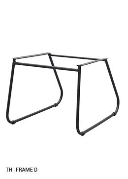 Trendhopper eetkamerstoel stoelpoten frame D
