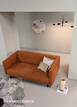 Wanddecoratie in een minimalistisch interieur van trendhopper