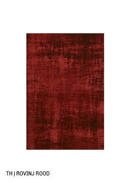 Trendhopper vloerkleed op maat rovinj kleur rood