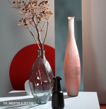 Combineer mistige en pittige kleuren in jouw thuisoase interieur
