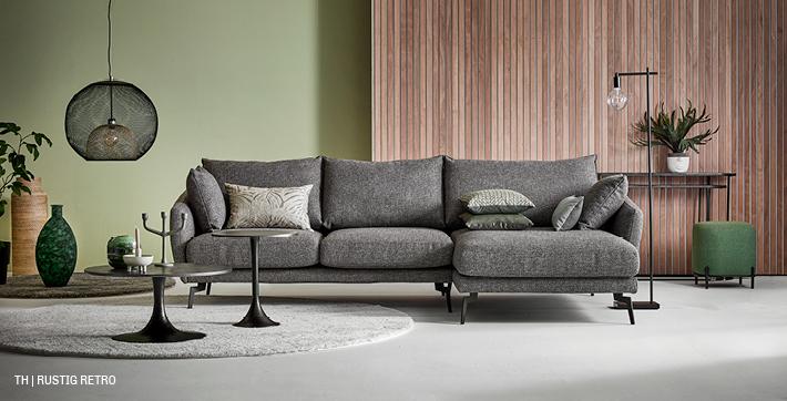 Trendhopper meubels voor een eigentijds retro interieur met de sfeer van weleer