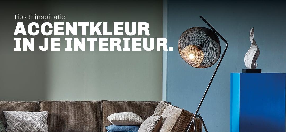 Tips en inspiratie voor accentkleur in jouw interieur van Trendhopper