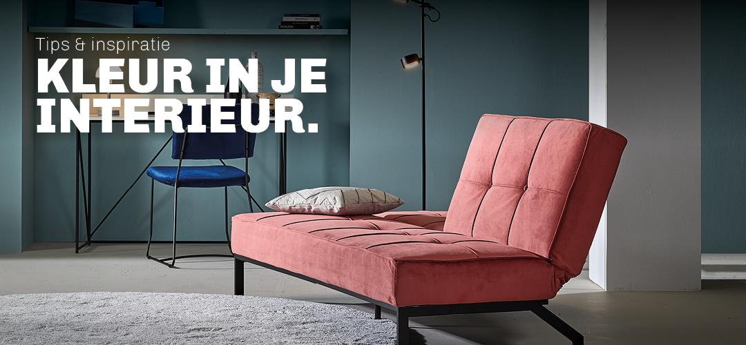 Tips en inspiratie voor kleur in jouw interieur van Trendhopper