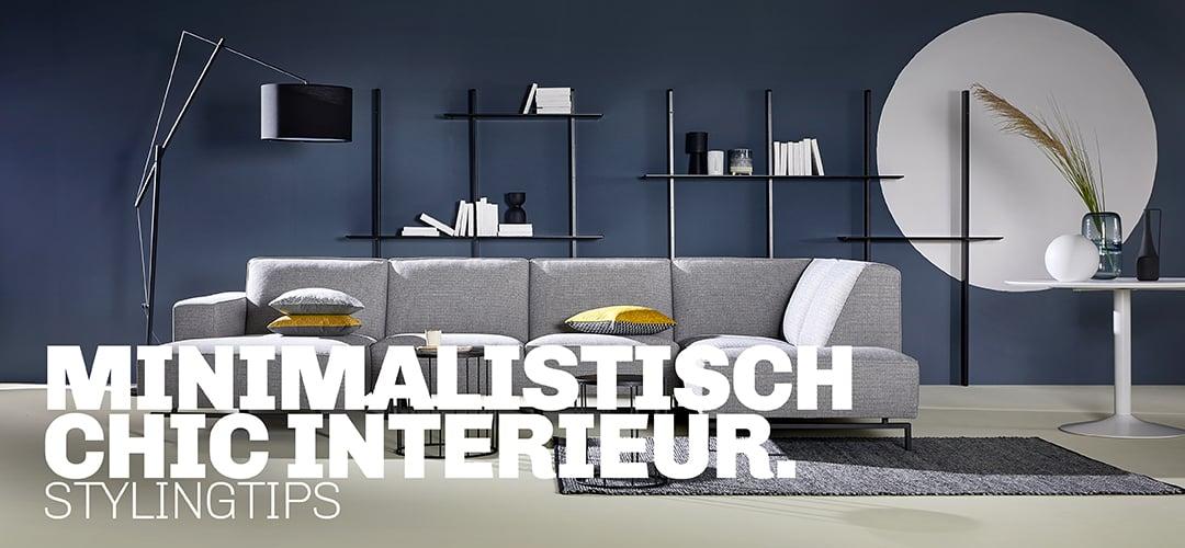 Tips van Trendhopper voor styling minimalistisch chic interieur