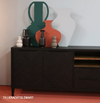 Trendhopper tip gebruik zwart als omlijsting of detail