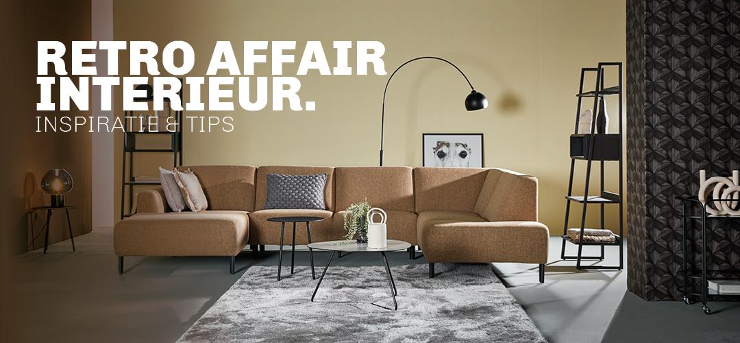 Inspiratie en tips voor styling van een retro affair interieur bij Trendhopper