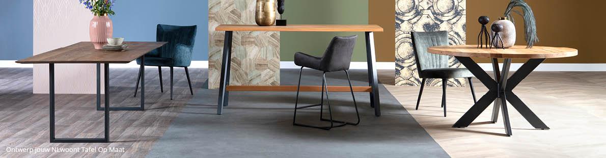 design eettafel met  NLwoont tafel Op Maat