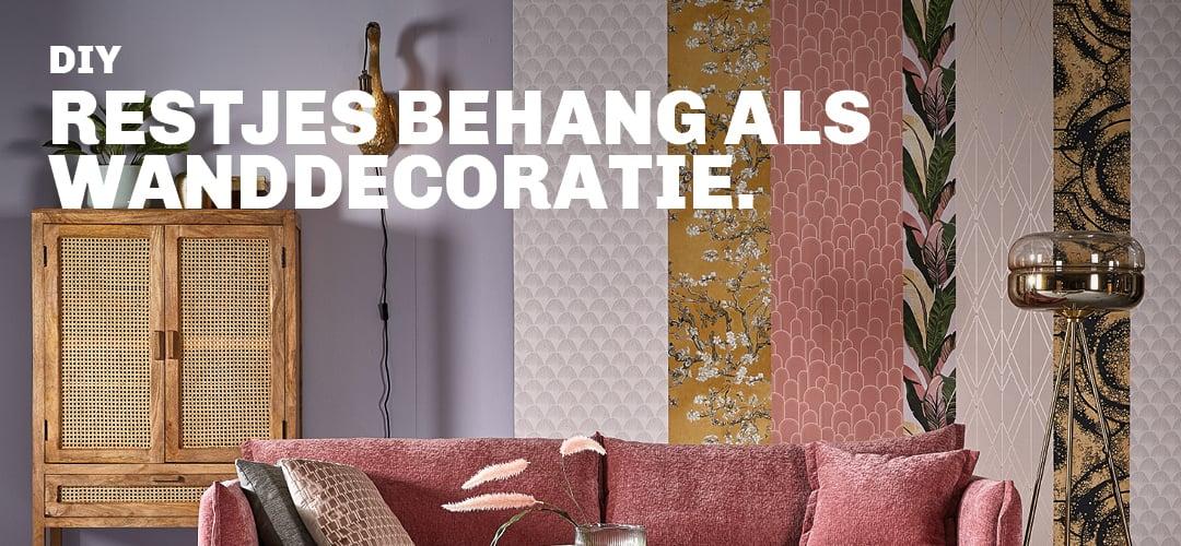Inspiratie voor DIY wanddecoratie met behang bij Trendhopper