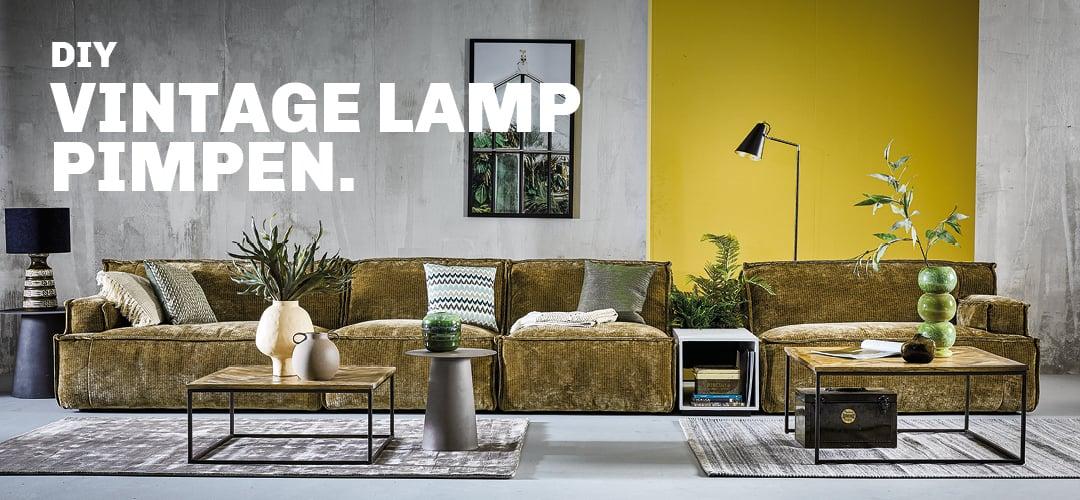 Inspiratie voor DIY vintage lamp pimpen bij Trendhopper