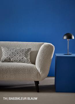 Tips inspiratie van Trendhopper basiskleur blauw in je interieur.