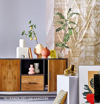 Trendhopper DIY decoratie kaasdoek wandkleed