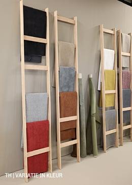 veel kleuren stof in duurzame collectie Trendhopper