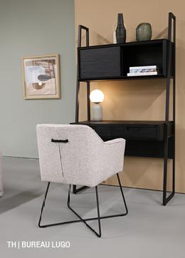bureau lugo in een minimalistisch interieur van trendhopper