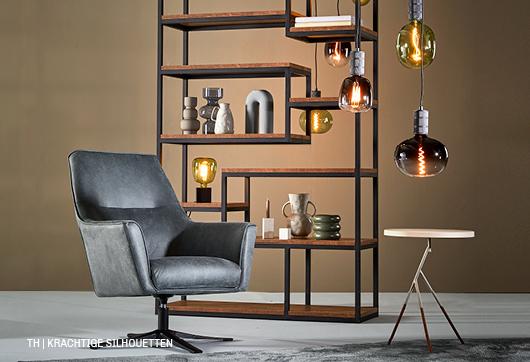 Krachtige silhouetten van Trendhopper meubels