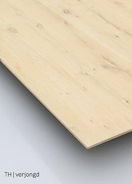 Trendhopper tafelblad met schuine rand