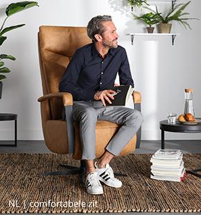Comfortabel zitten in fauteuil van NLwoont
