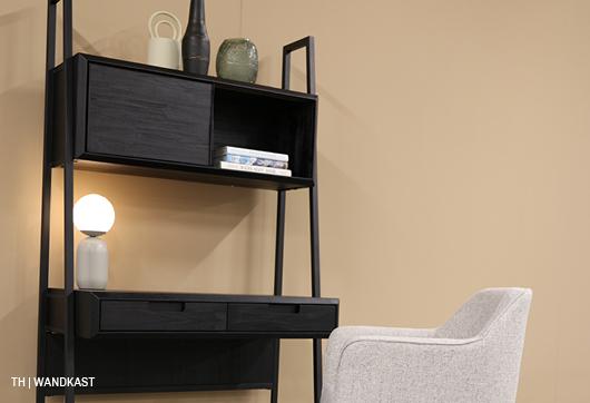 wandkast in een minimalistisch interieur van trendhopper