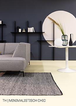 Scandinavische styling in minimalistisch chic interieur bij Trendhopper