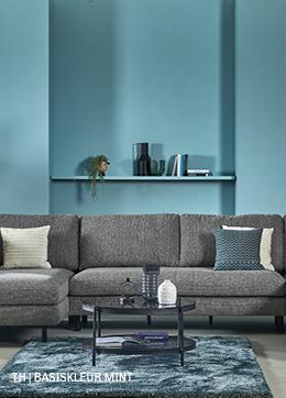Tips inspiratie van Trendhopper basiskleur mint in je interieur.