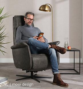 Mooie design relaxfauteuils bij NLwoont