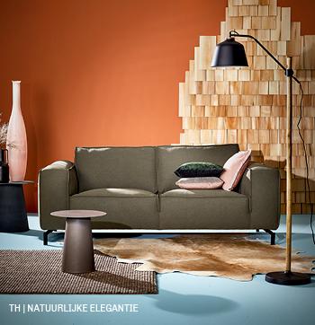 Trendhopper thuisoase is een interieur met natuurlijke elegantie