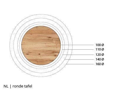 NLwoont ronde tafel op maat