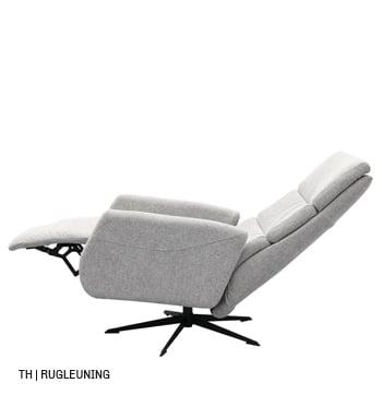 Verstelbare verstelbare rugleuning bij trendhopper relaxfauteuil
