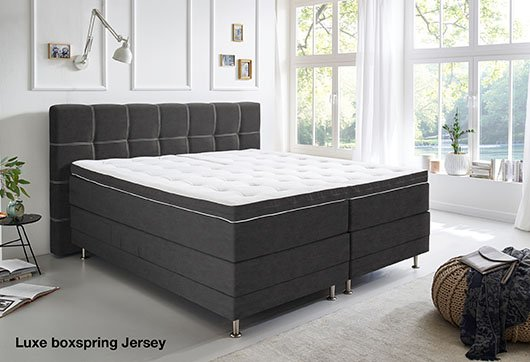 Luxe boxspring Jersey bij budget home store