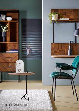 inspiratie voor wanddecoratie met foto met interessante compositie bij trendhopper