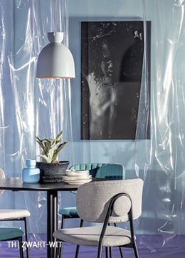inspiratie voor wanddecoratie met zwart wit foto bij trendhopper