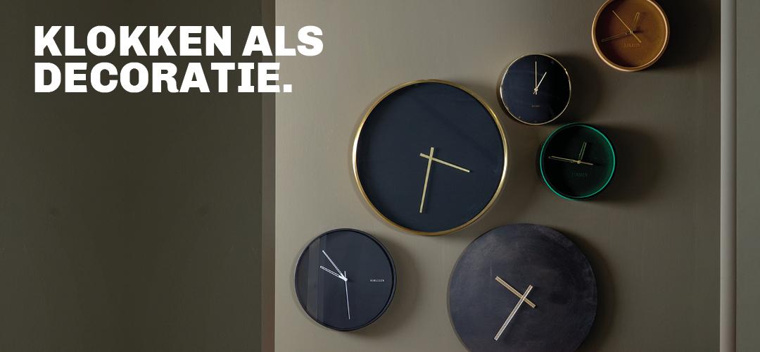 Trendy klokken ter inspiratie voor muurdecoratie met een klok bij Trendhopper