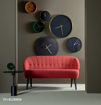 inspiratie voor wanddecoratie met klok bij trendhopper