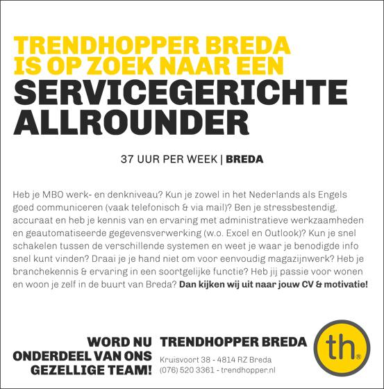 werken bij TH Breda