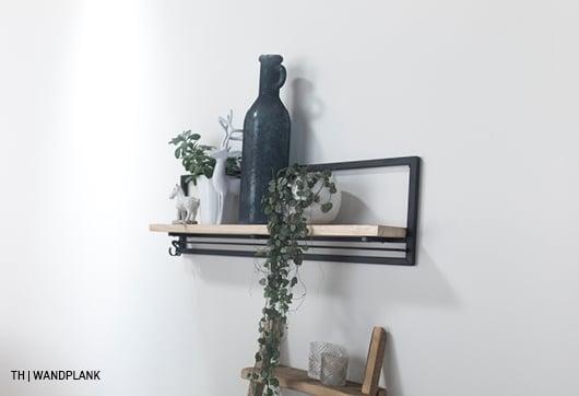 inspiratie voor wanddecoratie met 1 wandplank bij trendhopper