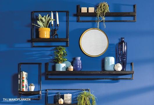 inspiratie voor wanddecoratie met meer wandplanken bij trendhopper