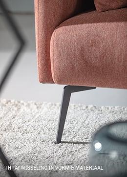 Trendhopper tip: maak je interieur dynamisch door vormen en materialen te mixen
