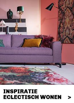 inspiratie en tips eclectisch interieur #trendhopper #styling #inrichting #woonkamer