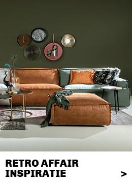 inspiratie en tips woonstijl Retro affair #trendhopper #interieur #styling #inrichting #woonkamer
