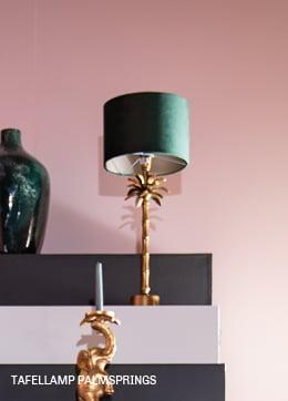 tafellamp Palmsprings #verlichting #trendhopper #botanical #trend