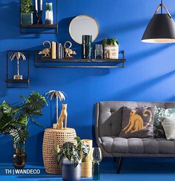 inspiratie voor wanddecoratie met wandplanken bij trendhopper