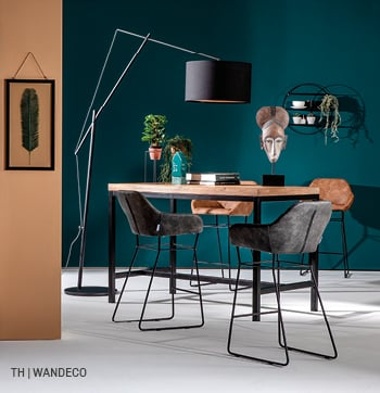 inspiratie voor wanddecoratie met een wandrek bij trendhopper